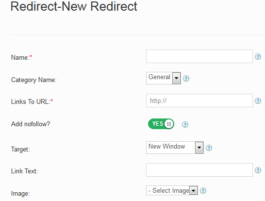 Redirects Edit